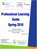 Professional Learning Guide Spring Summer