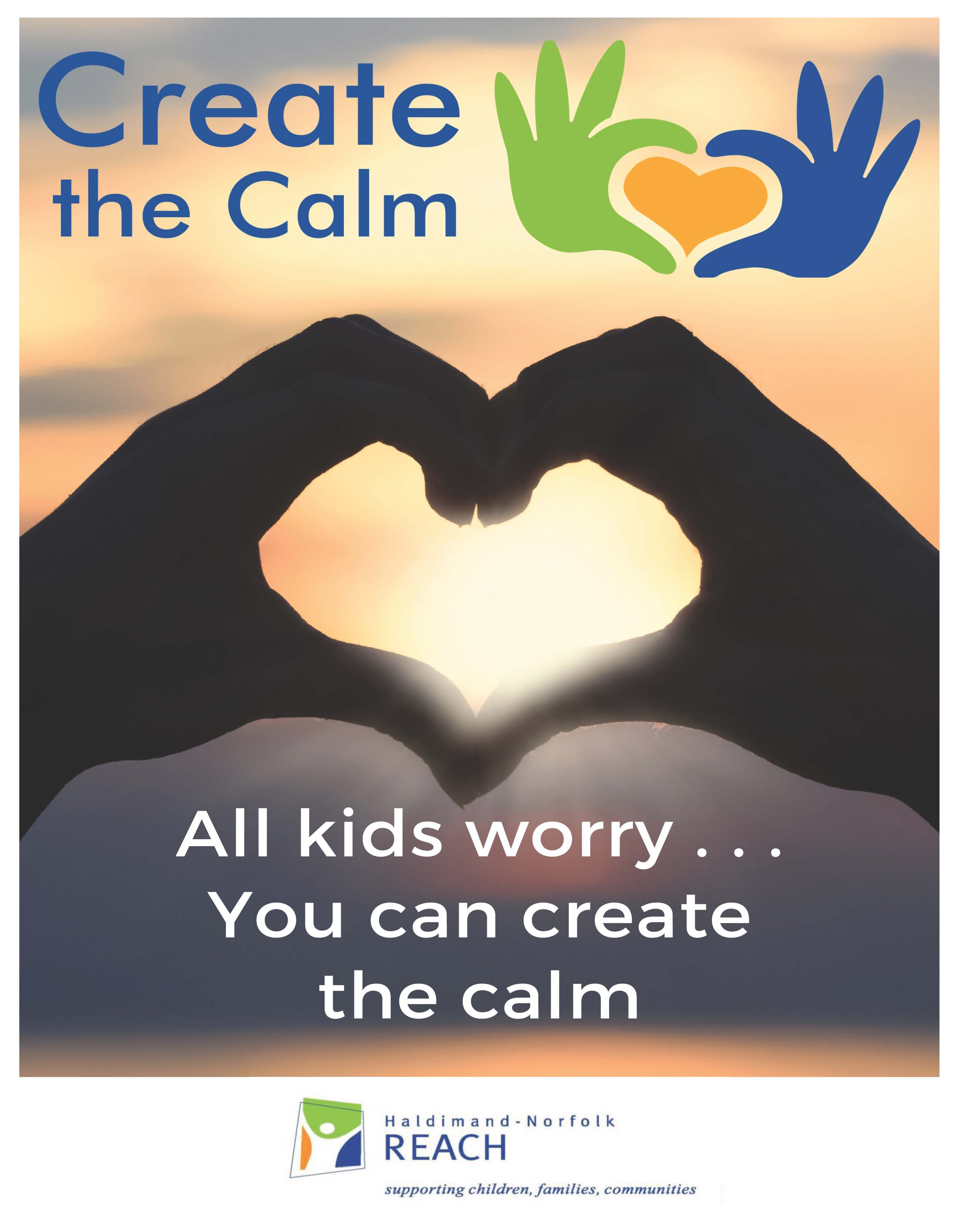 Create the Calm Booklet Cover